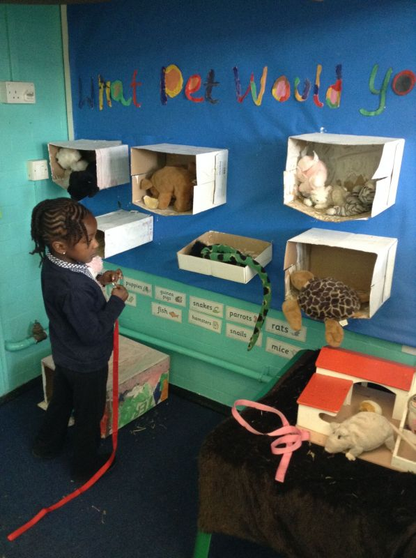 The Need For Services For Parents Of >> Reception's Role Play Area - Shoreditch Park Primary School
